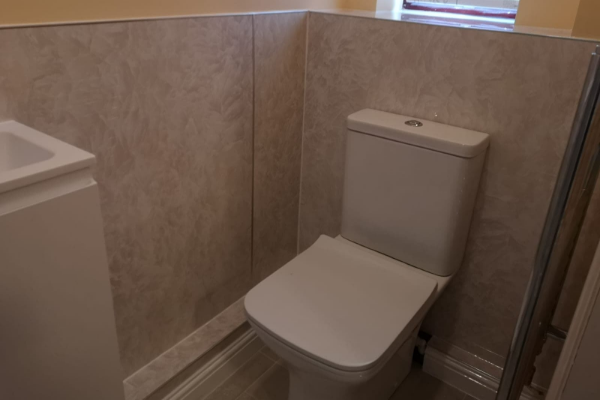 New en-suite WC
